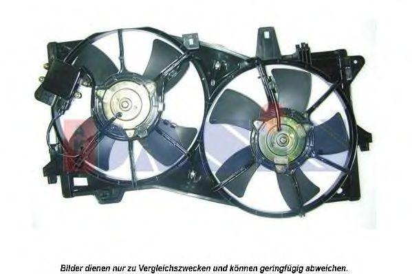 Вентилятор, охлаждение двигателя AKS DASIS 118060N