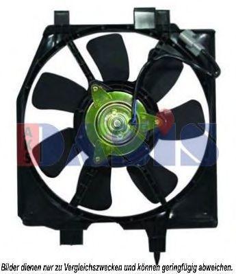 Вентилятор, охлаждение двигателя AKS DASIS 118077N