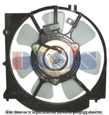 Вентилятор, охлаждение двигателя AKS DASIS 118081N