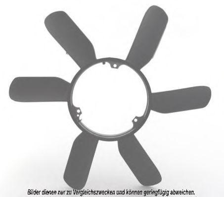 Крыльчатка вентилятора, охлаждение двигателя AKS DASIS 128022N