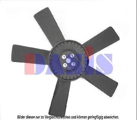Крыльчатка вентилятора, охлаждение двигателя AKS DASIS 128024N