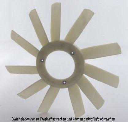 Крыльчатка вентилятора, охлаждение двигателя AKS DASIS 128025N