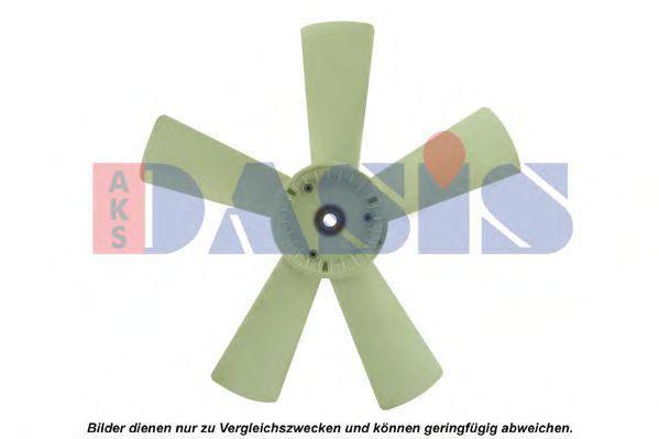 Крыльчатка вентилятора, охлаждение двигателя AKS DASIS 128031N