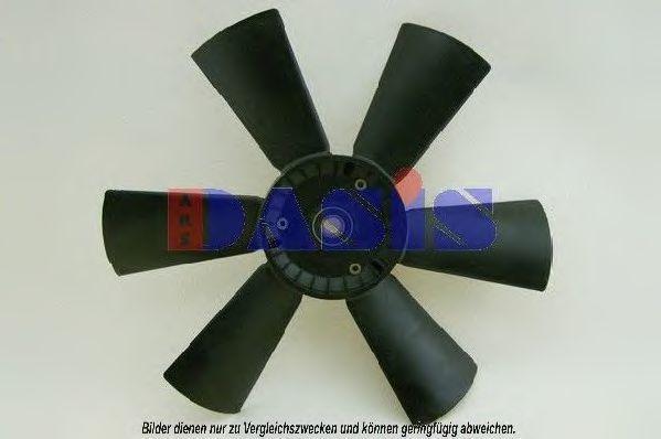 Крыльчатка вентилятора, охлаждение двигателя AKS DASIS 128055N