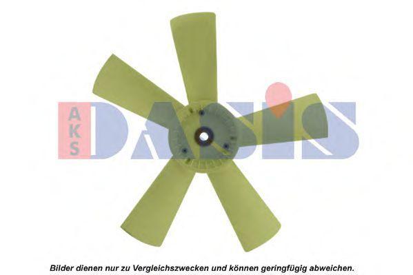 Крыльчатка вентилятора, охлаждение двигателя AKS DASIS 128057N