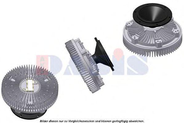 Сцепление, вентилятор радиатора AKS DASIS 128077N