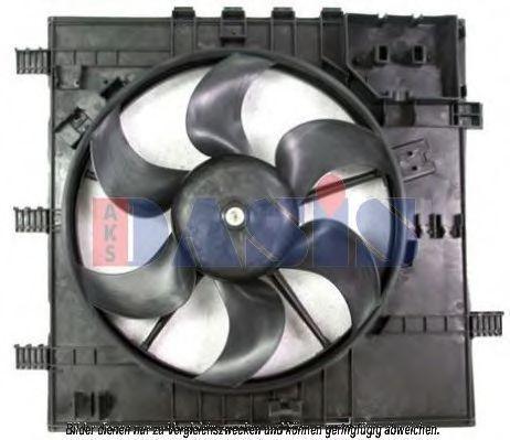 Вентилятор, охлаждение двигателя AKS DASIS 128139N