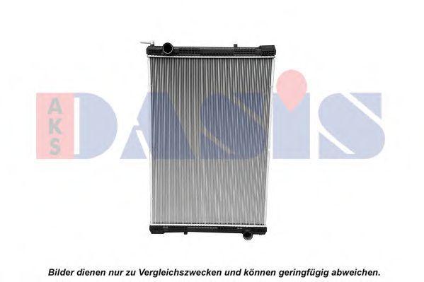 Радиатор, охлаждение двигателя AKS DASIS 130061S