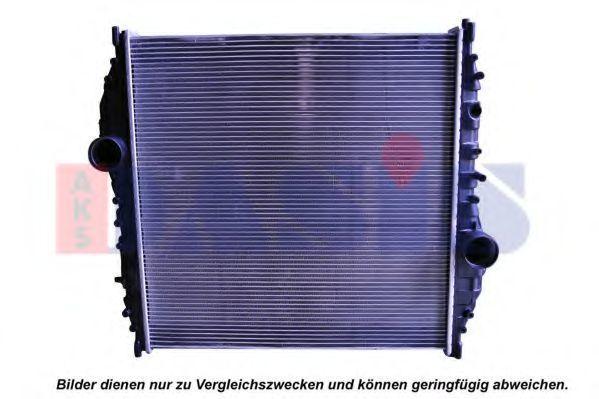 Радиатор, охлаждение двигателя AKS DASIS 131003N