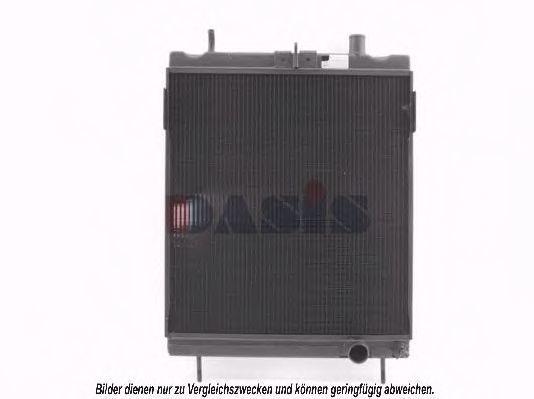 Радиатор, охлаждение двигателя AKS DASIS 131620N