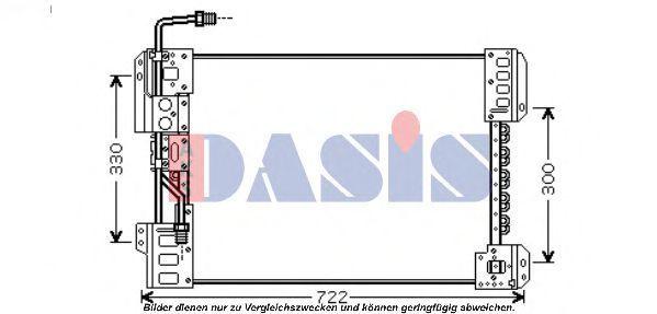 Конденсатор, кондиционер AKS DASIS 132020N