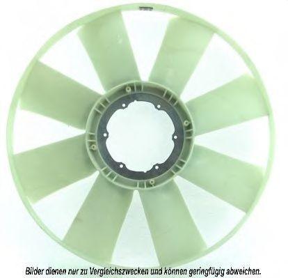 Крыльчатка вентилятора, охлаждение двигателя AKS DASIS 138022N