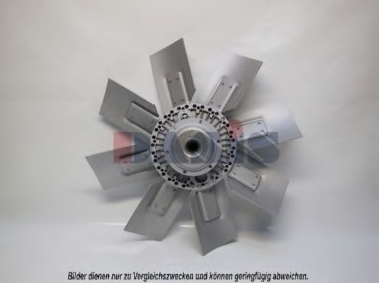 Вентилятор, охлаждение двигателя AKS DASIS 138070T