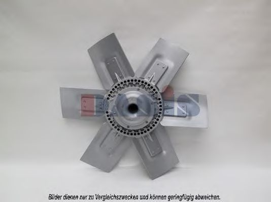 Вентилятор, охлаждение двигателя AKS DASIS 138150T