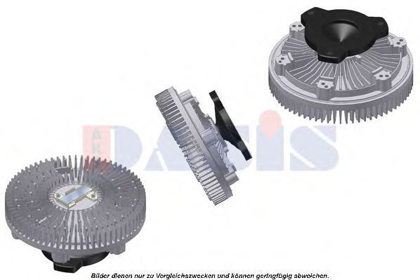 Сцепление, вентилятор радиатора AKS DASIS 138560N