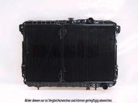 Радиатор, охлаждение двигателя AKS DASIS 140450N