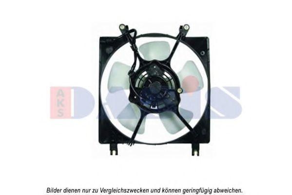 Вентилятор, охлаждение двигателя AKS DASIS 148009N