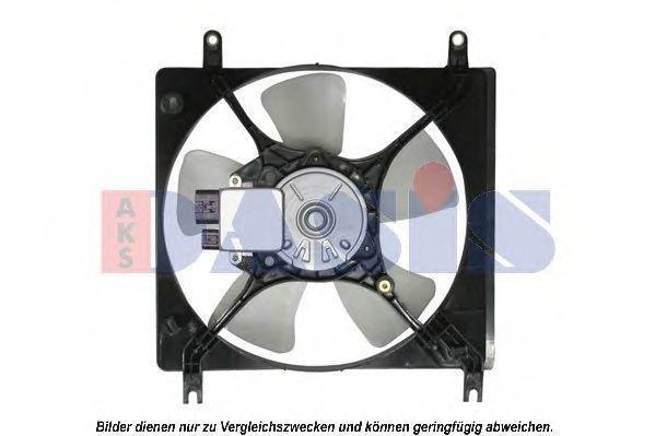 Вентилятор, охлаждение двигателя AKS DASIS 148011N