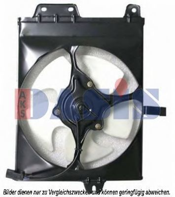 Вентилятор, охлаждение двигателя AKS DASIS 148013N