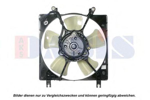 Вентилятор, охлаждение двигателя AKS DASIS 148015N