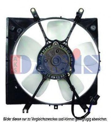 Вентилятор, охлаждение двигателя AKS DASIS 148022N