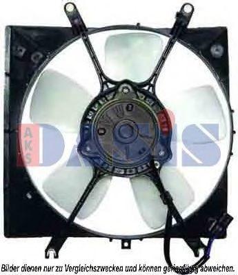 Вентилятор, охлаждение двигателя AKS DASIS 148023N