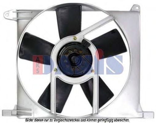 Вентилятор, охлаждение двигателя AKS DASIS 158026N