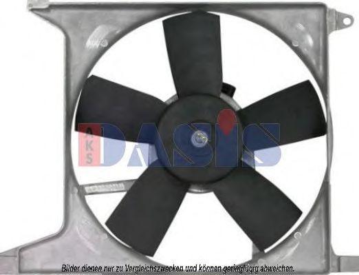 Вентилятор, охлаждение двигателя AKS DASIS 158029N
