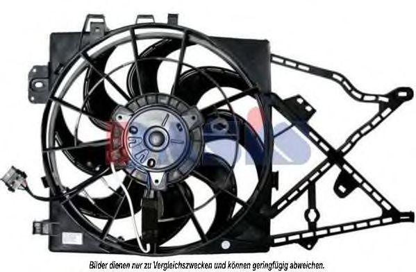 Вентилятор, охлаждение двигателя AKS DASIS 158032N