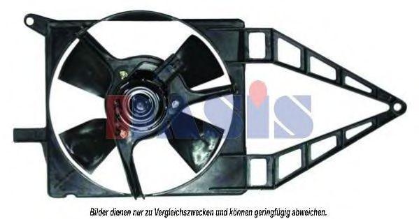 Вентилятор, охлаждение двигателя AKS DASIS 158042N