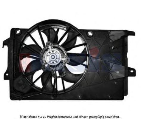 Вентилятор, охлаждение двигателя AKS DASIS 158048N
