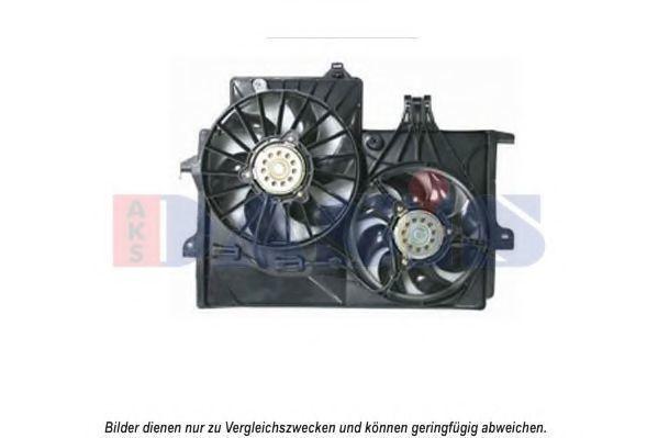 Вентилятор, охлаждение двигателя AKS DASIS 158052N