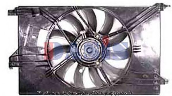 Вентилятор, охлаждение двигателя AKS DASIS 158054N