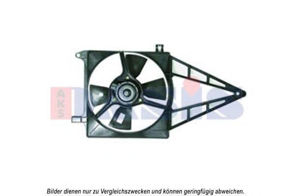 Вентилятор, охлаждение двигателя AKS DASIS 158057N