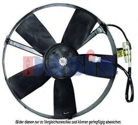 Вентилятор, охлаждение двигателя AKS DASIS 158061N