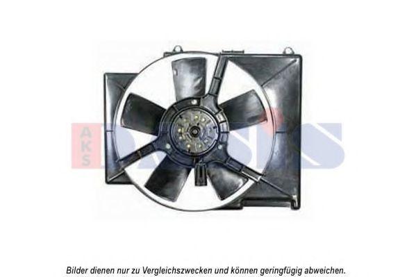 Вентилятор, охлаждение двигателя AKS DASIS 158069N