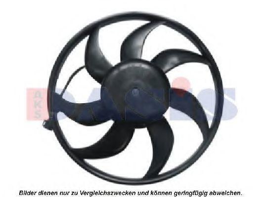 Вентилятор, охлаждение двигателя AKS DASIS 158076N