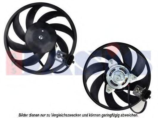 Вентилятор, охлаждение двигателя AKS DASIS 158079N