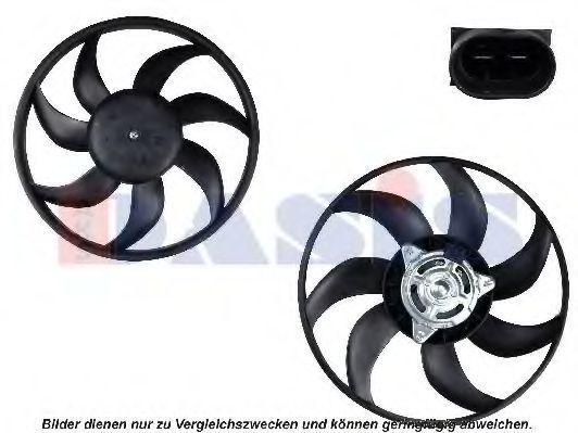 Вентилятор, охлаждение двигателя AKS DASIS 158082N