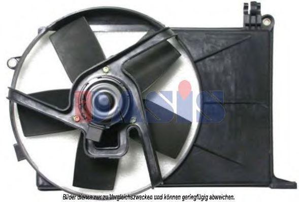 Вентилятор, охлаждение двигателя AKS DASIS 158170N