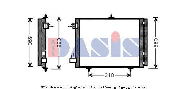 Конденсатор, кондиционер AKS DASIS 162009N