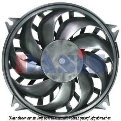Вентилятор, охлаждение двигателя AKS DASIS 168039N