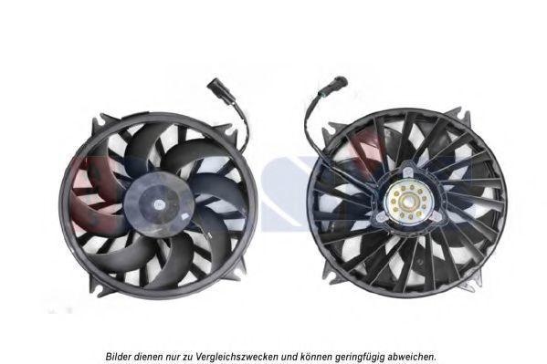 Вентилятор, охлаждение двигателя AKS DASIS 168053N