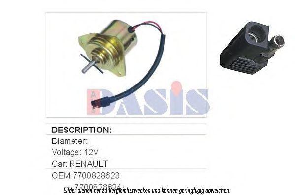 Вентилятор, охлаждение двигателя AKS DASIS 188010N