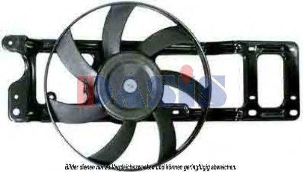 Вентилятор, охлаждение двигателя AKS DASIS 188036N