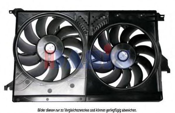 Вентилятор, охлаждение двигателя AKS DASIS 198013N