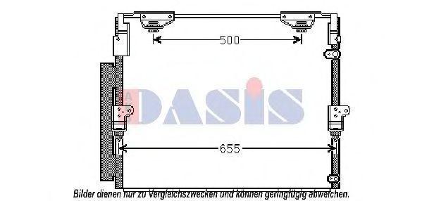 Конденсатор, кондиционер AKS DASIS 212070N