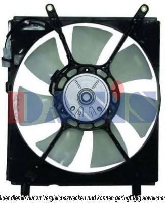 Вентилятор, охлаждение двигателя AKS DASIS 218022N