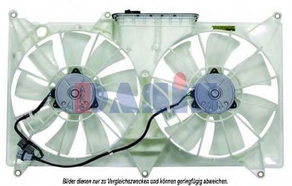 Вентилятор, охлаждение двигателя AKS DASIS 218041N