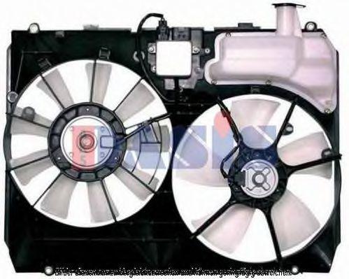 Вентилятор, охлаждение двигателя AKS DASIS 218042N